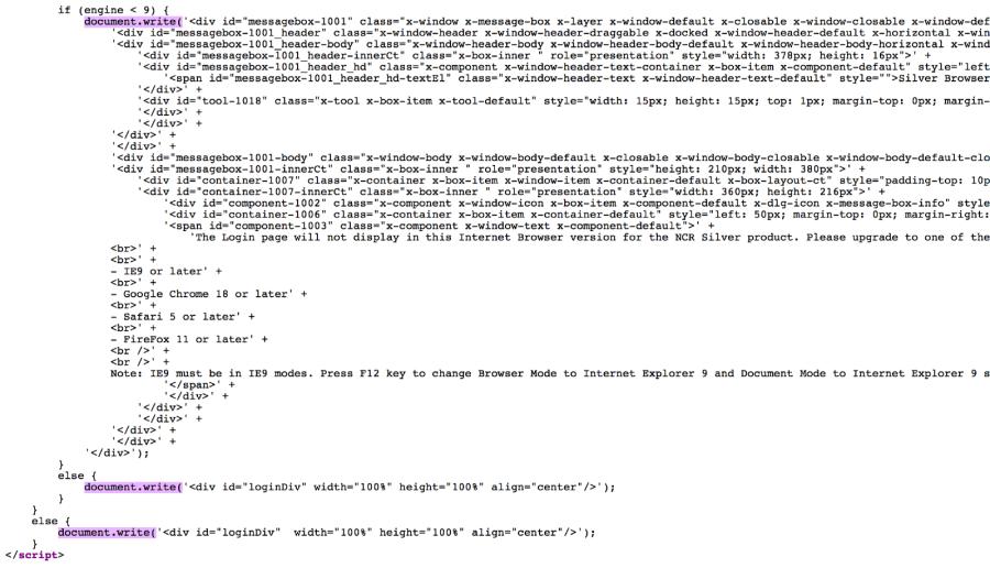 script login
